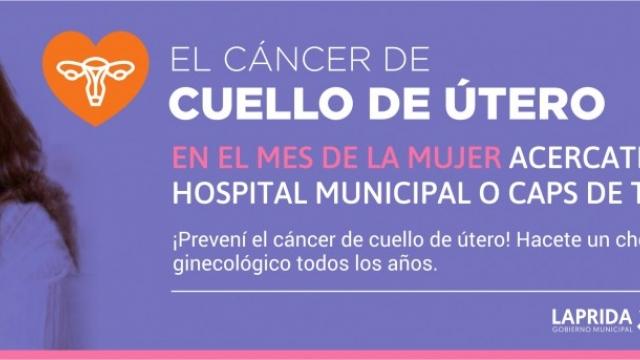 Campaña de prevención de cáncer de cuello uterino